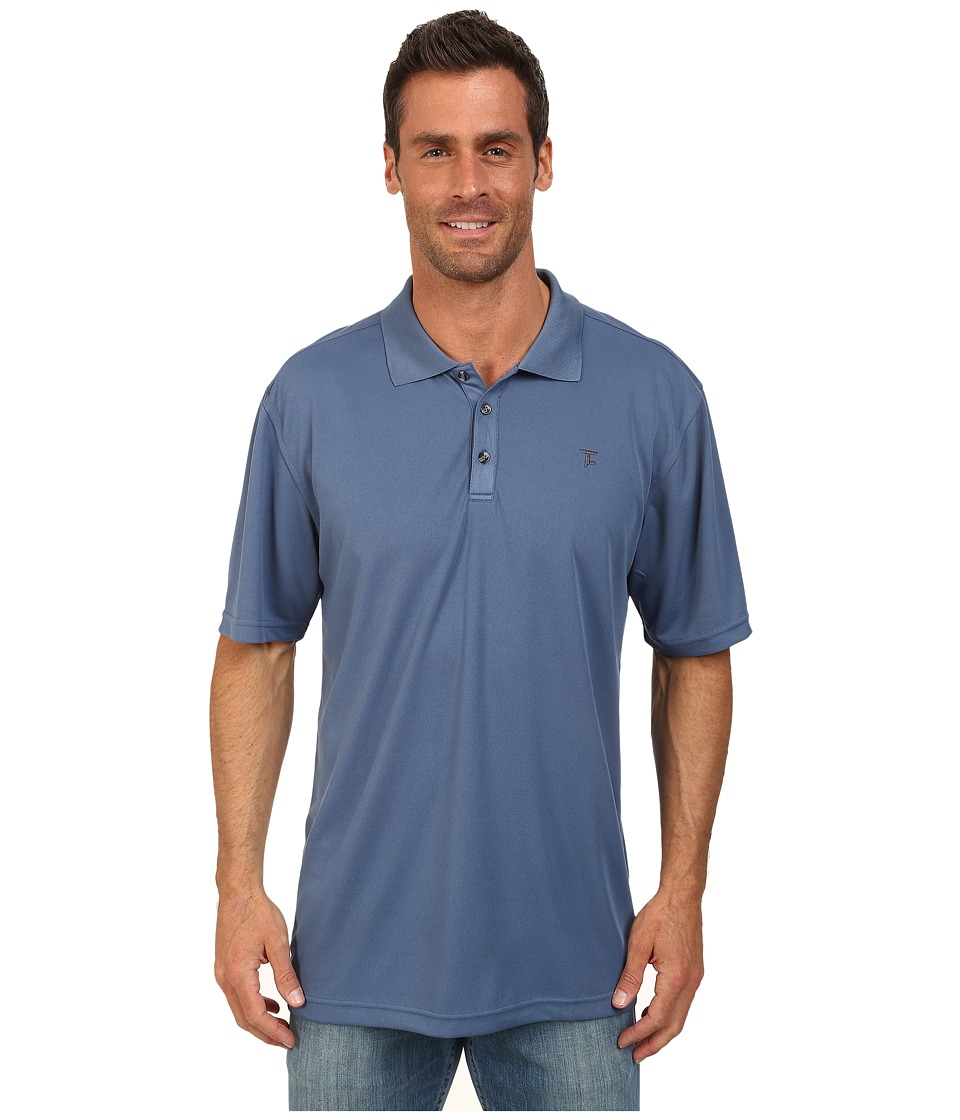 Tuf Cooper by Panhandle - Short Sleeve Polo (Royal) Men's Short Sleeve Pullover