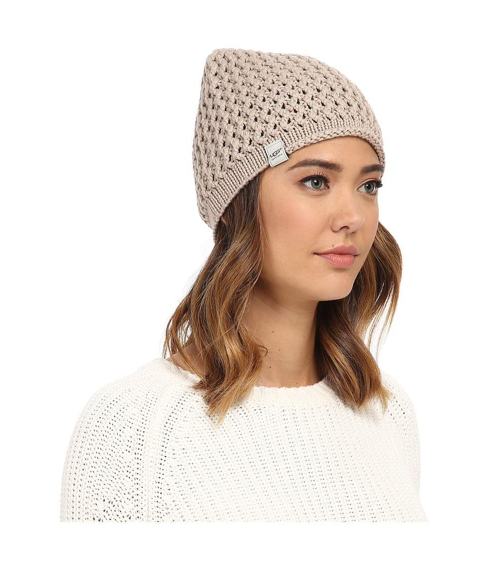 UGG - Sequoia Solid Knit Beanie (Moonlight) Beanies