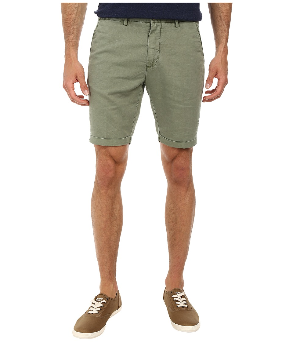 Gant Rugger - R. Summer Twill Chino Shorts (Military Green) Men