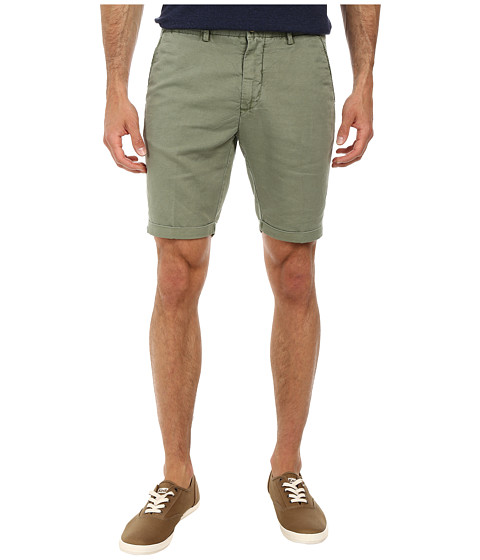 Gant Rugger - R. Summer Twill Chino Shorts (Military Green) Men