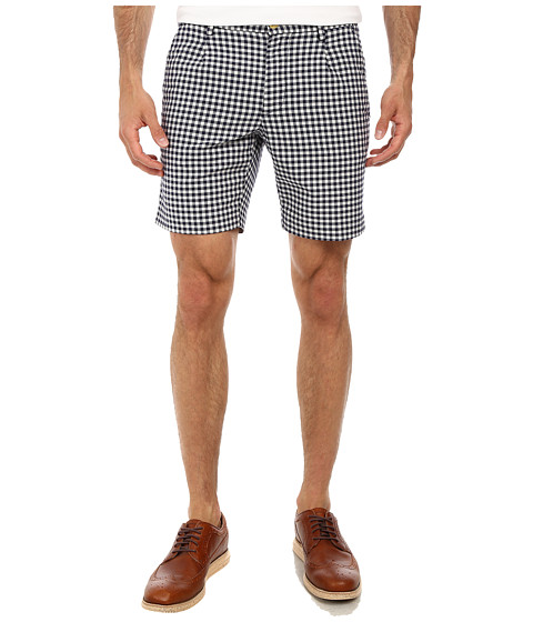 Gant Rugger - R. Oxford Gingham Shorts (Storm Blue) Men
