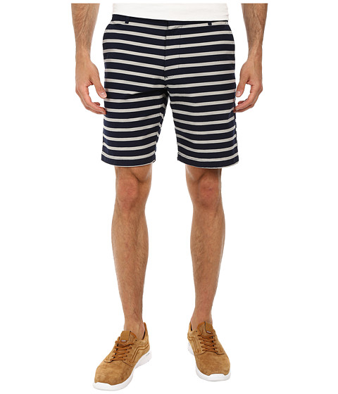 Gant Rugger - R. Stripe Shorts (Navy) Men's Shorts