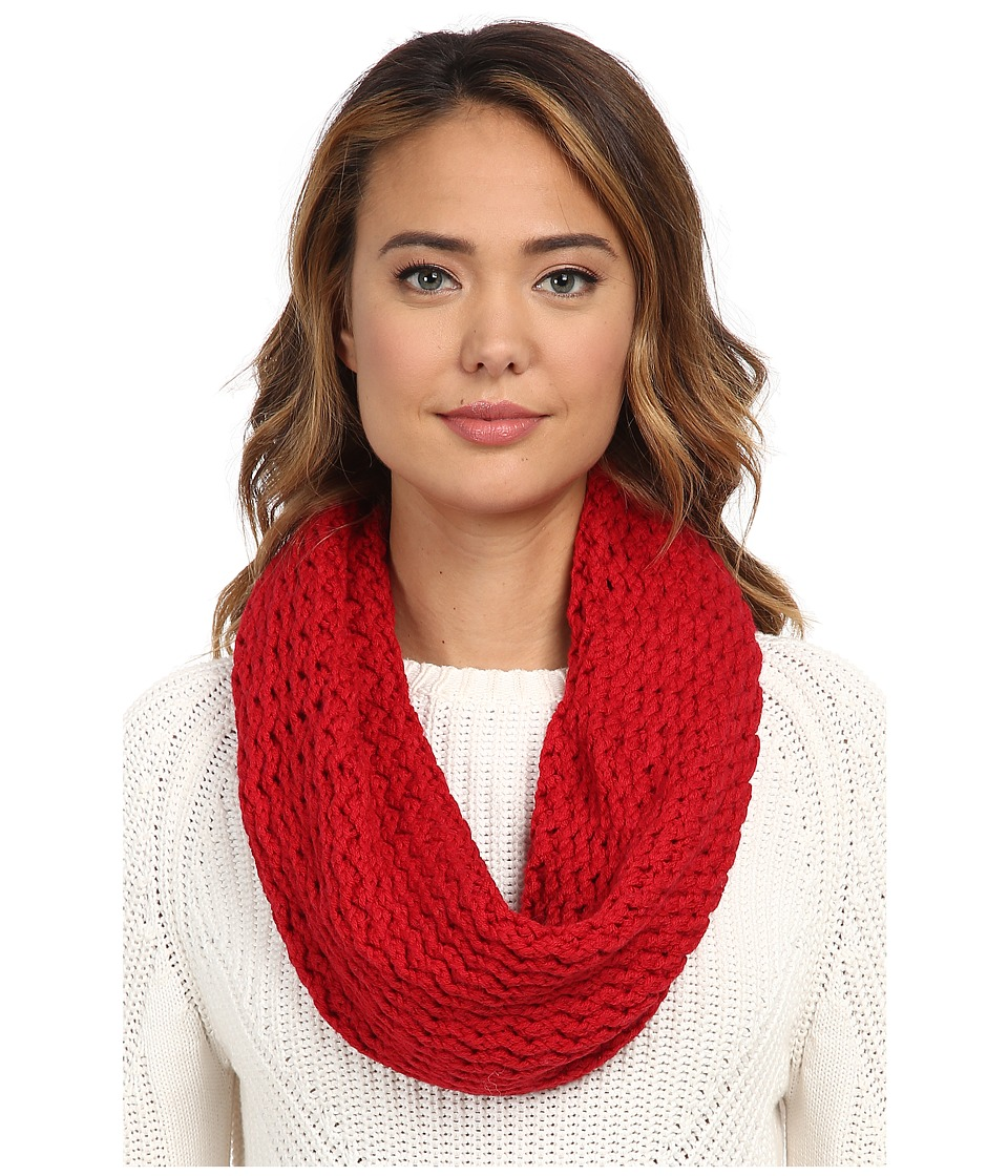 UGG - Sequoia Twisted Solid Knit Snood (Scarlett) Scarves
