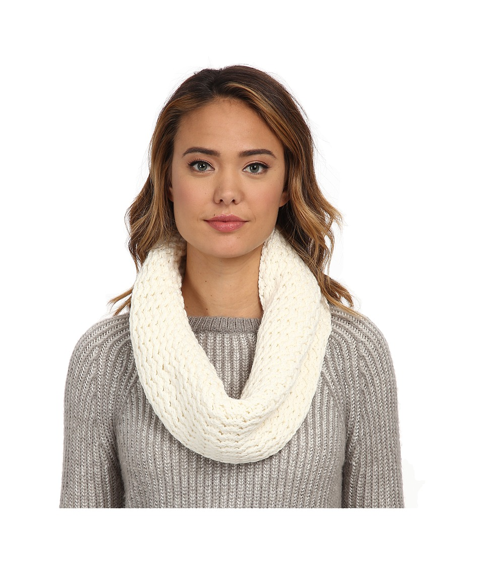UGG - Sequoia Twisted Solid Knit Snood (Cream) Scarves