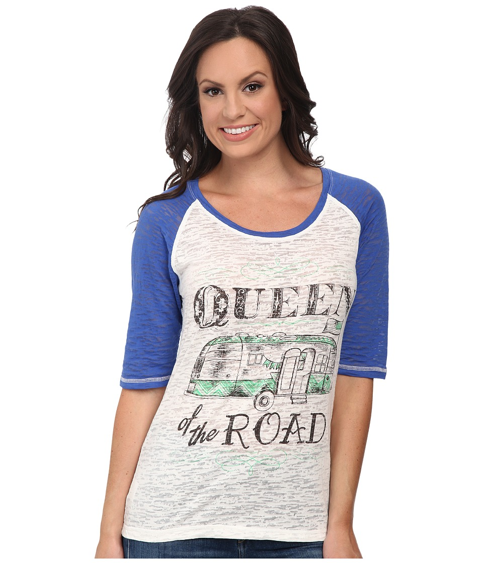 Cruel - Jersey Burn-Out Raglan Loose (Assorted) Women's Clothing