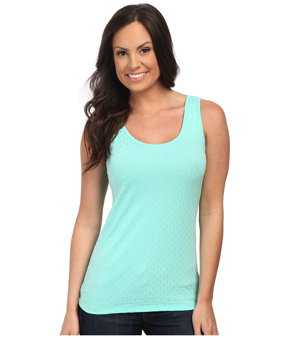 Cruel - Long and Lean Tank Top (Teal) Women's Sleeveless