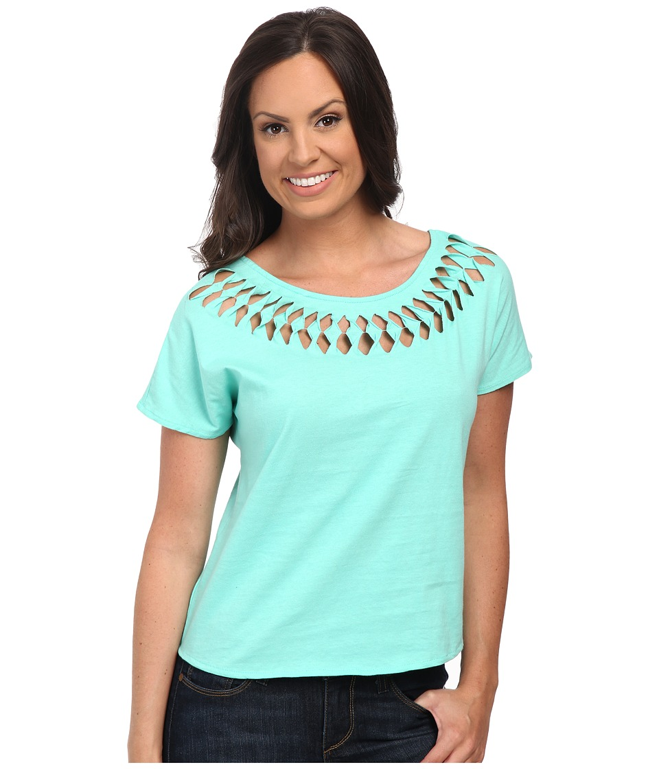 Cruel - Oversized Knit Top (Teal) Women