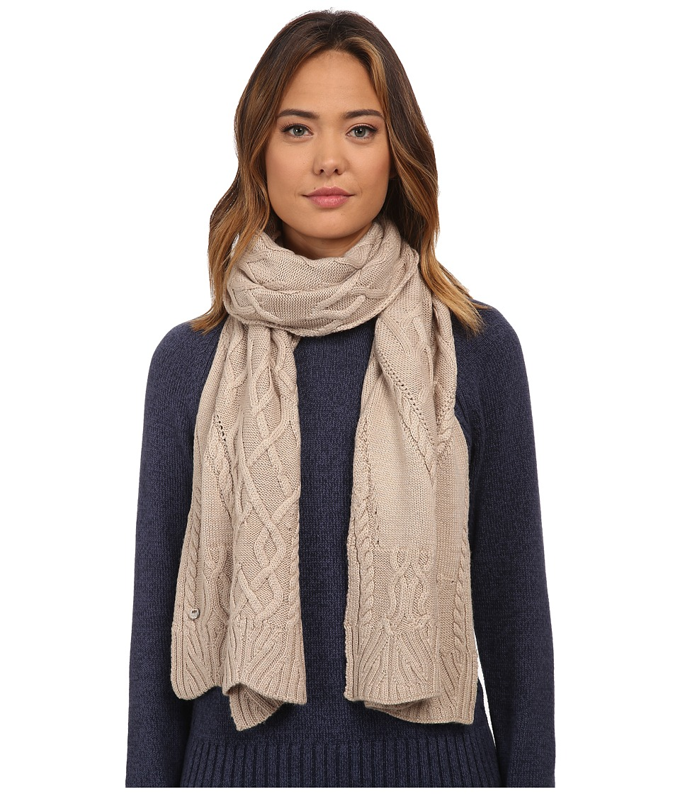UGG - Isla Lurex Cable Scarf (Moonlight Multi) Scarves