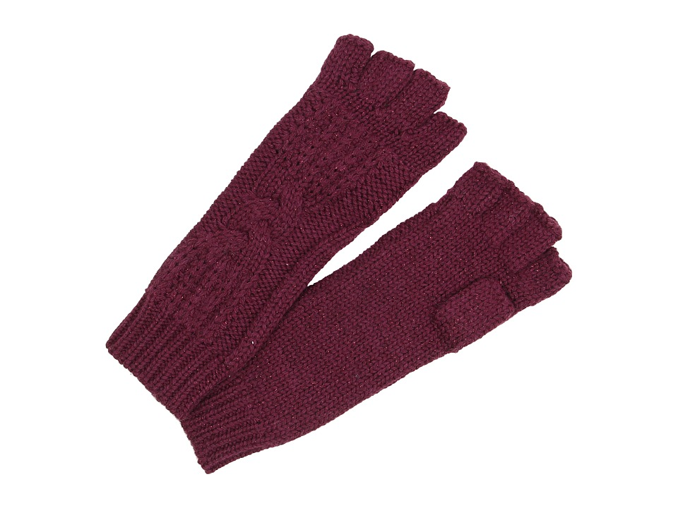 UGG - Isla Lurex Cable Fingerless Glove (Aster Multi) Extreme Cold Weather Gloves