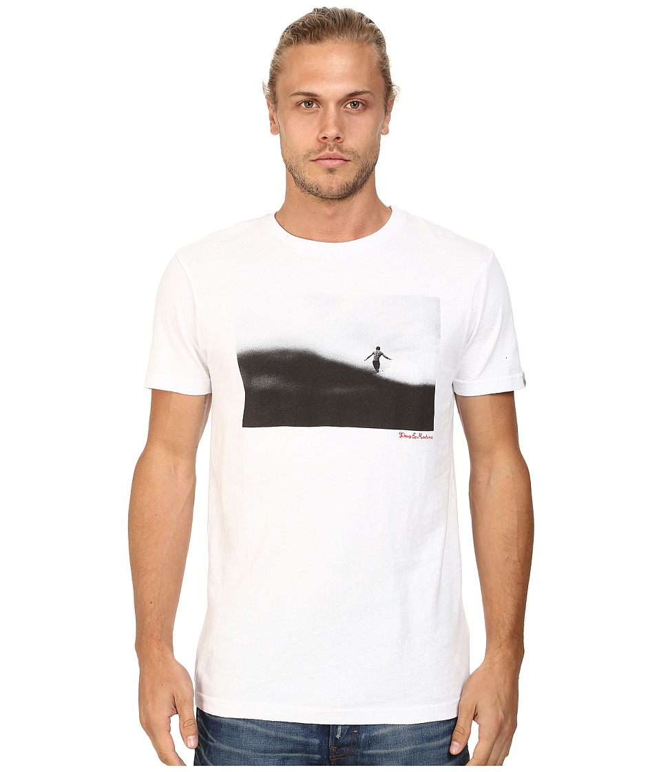 Deus Ex Machina - Walk On Water Tee (White) Men's T Shirt