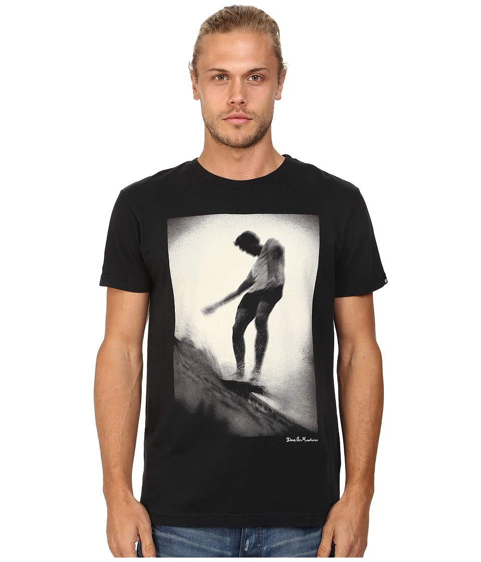 Deus Ex Machina - Slide On Water Tee (Black) Men's T Shirt