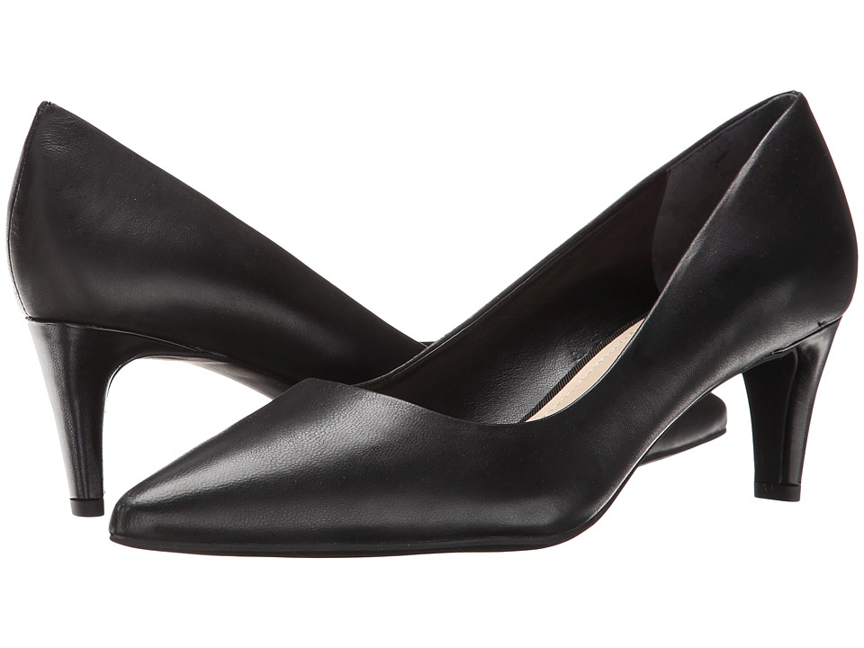 Franco Sarto - Discreet (Black Leather) High Heels