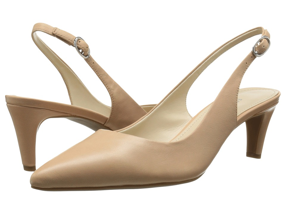 Franco Sarto - Dava (Sandy Beach Leather) Women's Sling Back Shoes