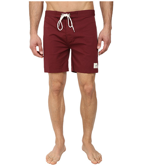 Deus Ex Machina - Harrison Concept 2 Boardshorts (Burgandy) Men