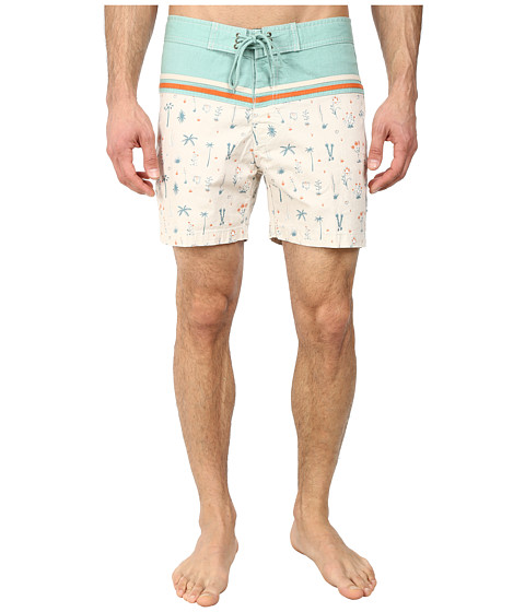 Deus Ex Machina - Canggu Original Palms Boardshorts (Chino) Men's Swimwear