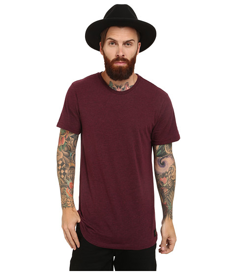 HUF - Standard Issue Tee (Wine) Men's T Shirt