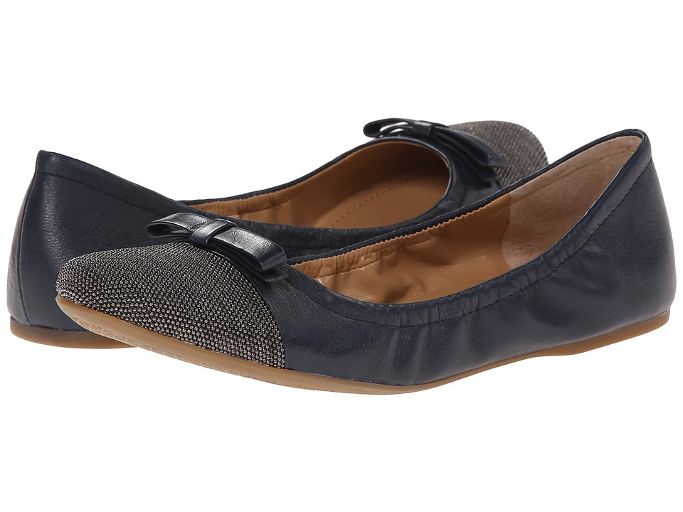 Franco Sarto Centara (Navy Leather) Women