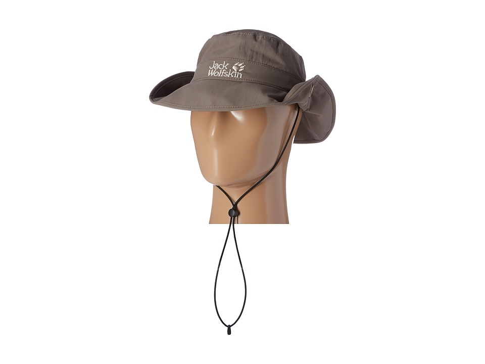 Jack Wolfskin - Supplex Mesh Hat (Siltstone) Caps