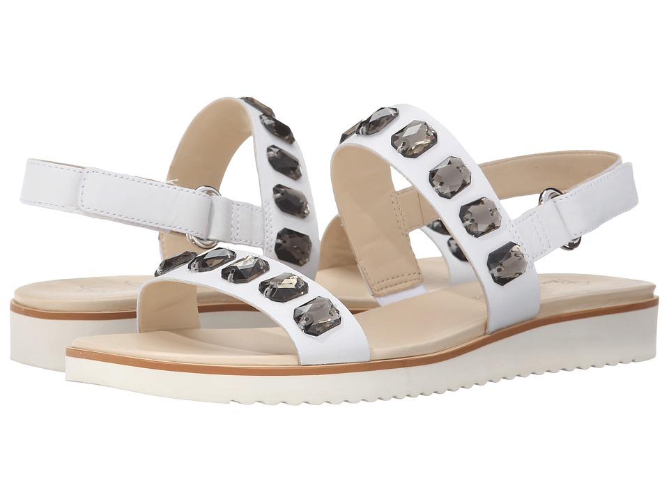 Franco Sarto - Diamante (White Leather) Women