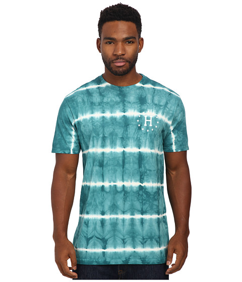 HUF - 12 Galaxies Lightning Stripe Tee (Jade) Men's T Shirt