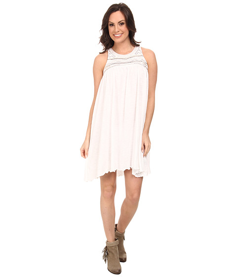Rock and Roll Cowgirl - Sleeveless Dress (Off White) Women