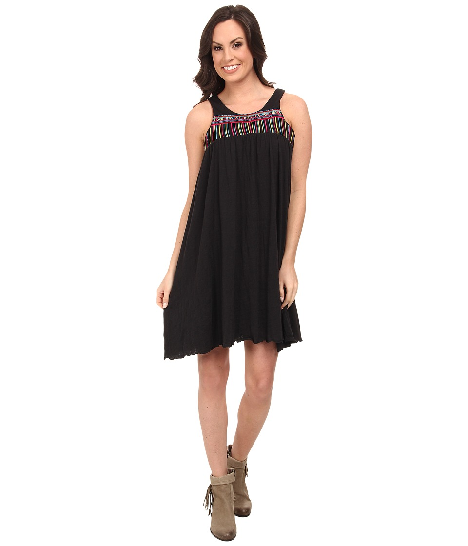 Rock and Roll Cowgirl - Sleeveless Dress (Black) Women's Dress