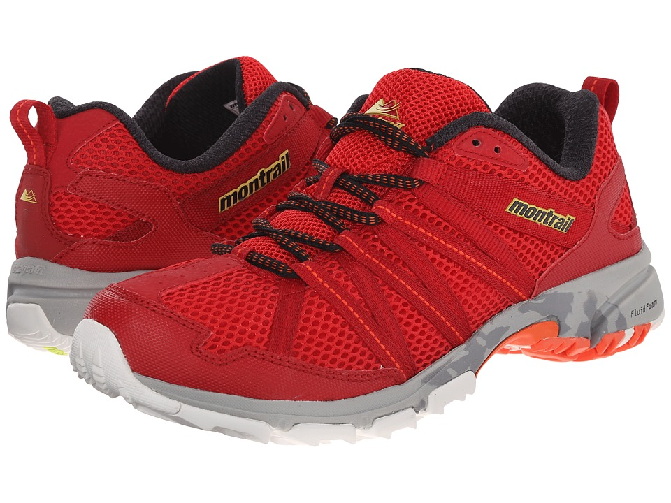 Montrail Mountain Masochist III (Bright Red/Black) Men