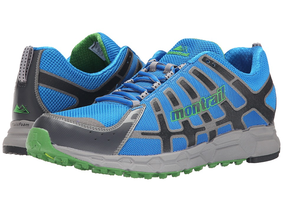 Montrail - Bajada II (Hyper Blue/Clean Green) Men
