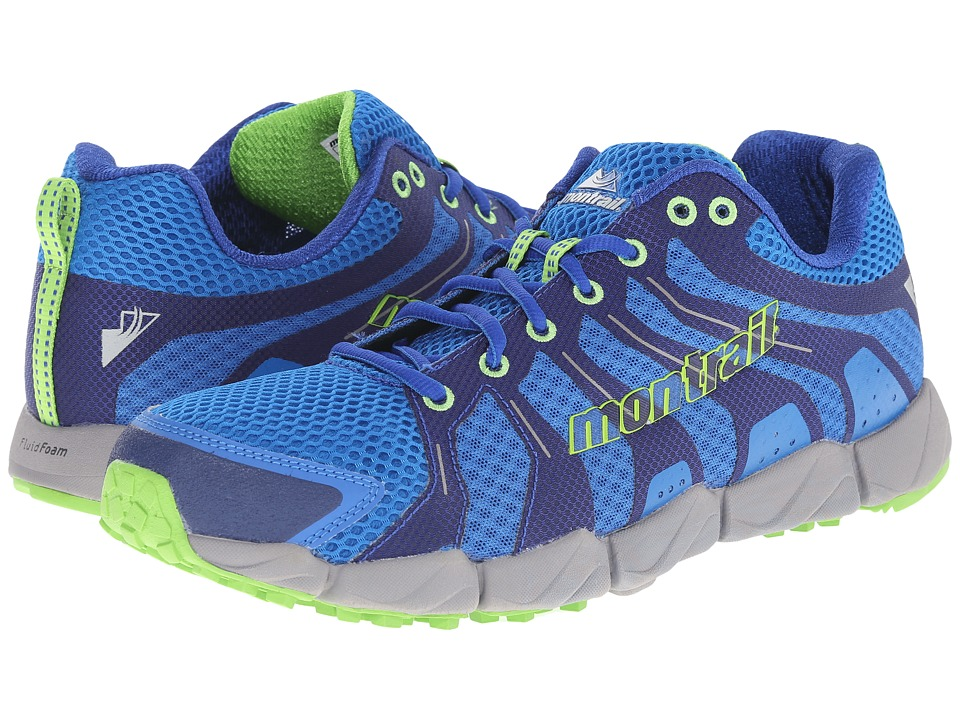 Montrail - Fluid Flex ST (Blue Jay/Nuclear) Men's Shoes