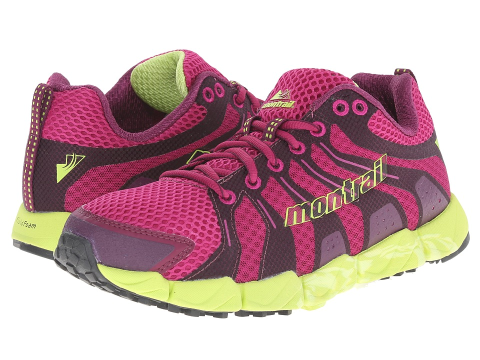 Montrail - Fluid Flex ST (Deep Blush/Fission) Women's Shoes