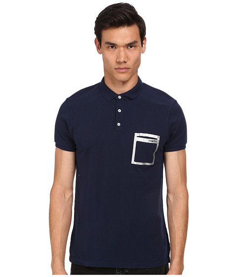 Marc by Marc Jacobs - Classic Polo w/ Coll (Gettysburg Blue Multi) Men
