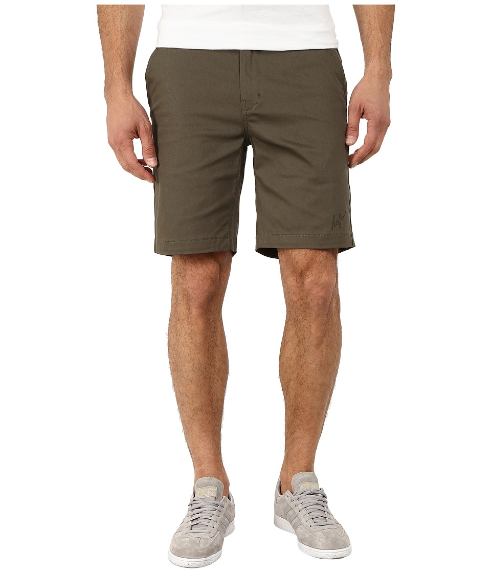 HUF - Fulton Chino Shorts (Military) Men's Shorts