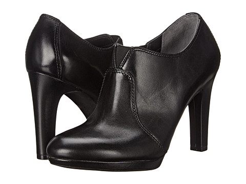 Rockport - Seven To 7 Ally Shootie (Black Burn Calf) Women's Shoes