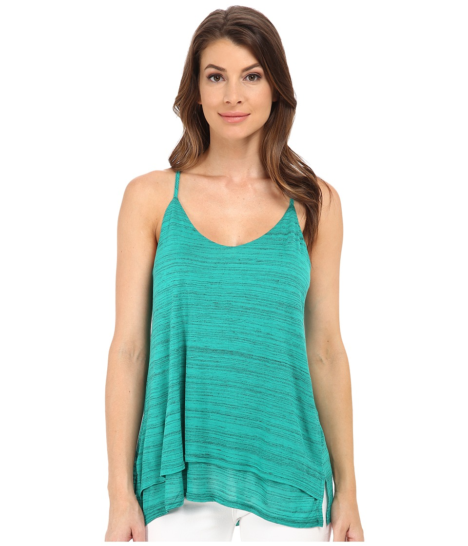 Splendid - Space Dye Luxe Tank Top (Vivid Green) Women's Sleeveless