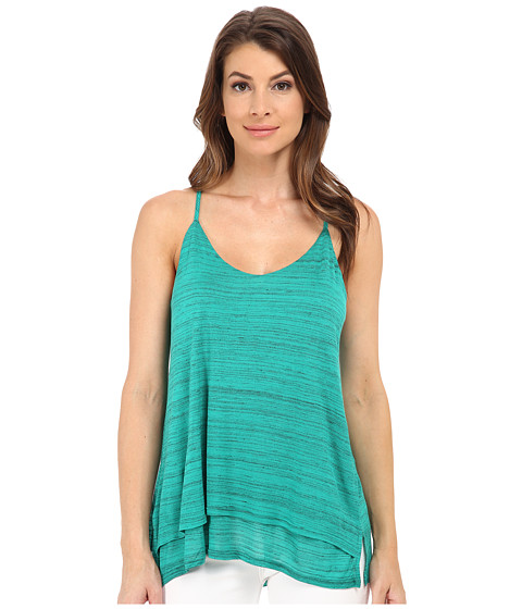 Splendid - Space Dye Luxe Tank Top (Vivid Green) Women