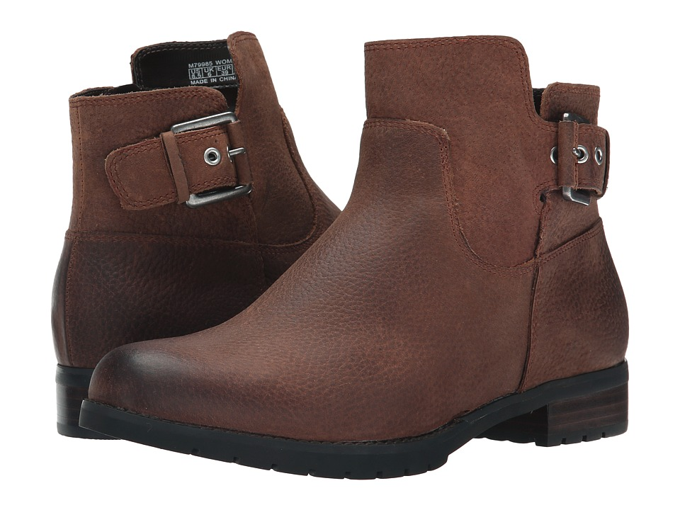 Rockport Tristina Buckle Bootie (Nutella Tumble) Women