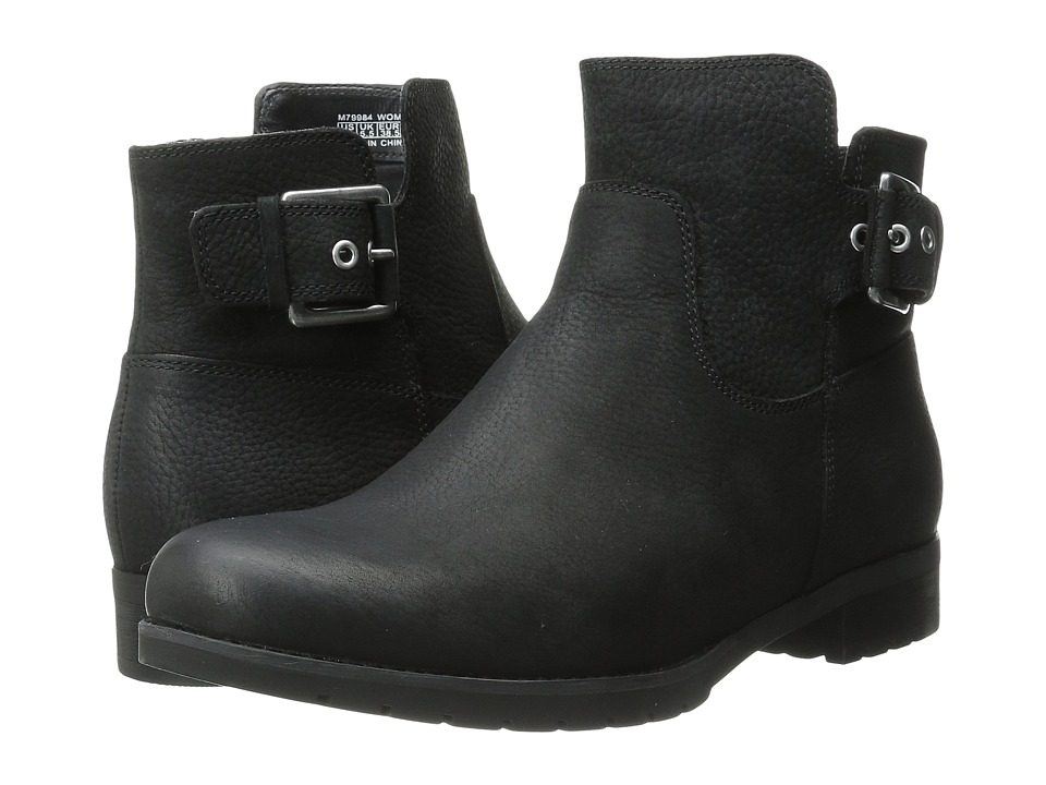 Rockport - Tristina Buckle Bootie (Black Tumble) Women's Boots