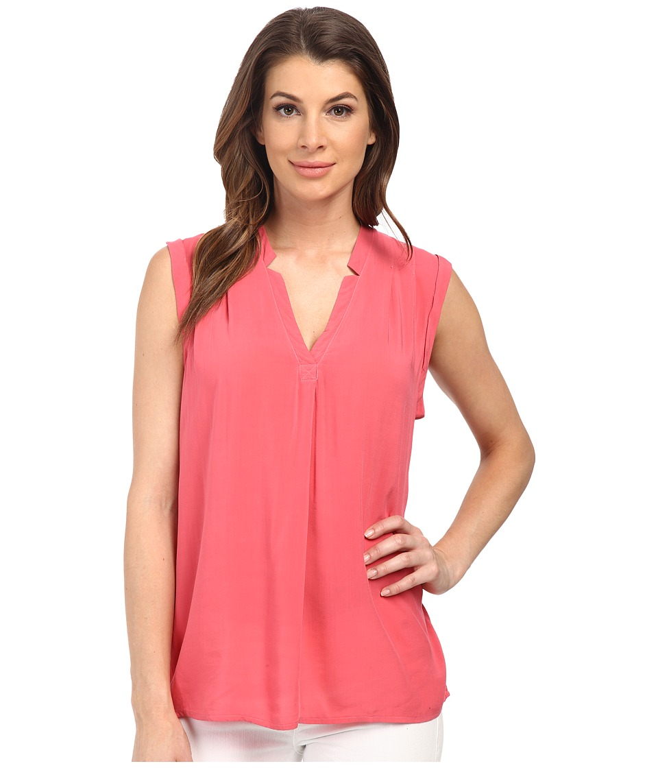 Splendid - Rayon Voile Tank Top (Desert Rose) Women's Sleeveless