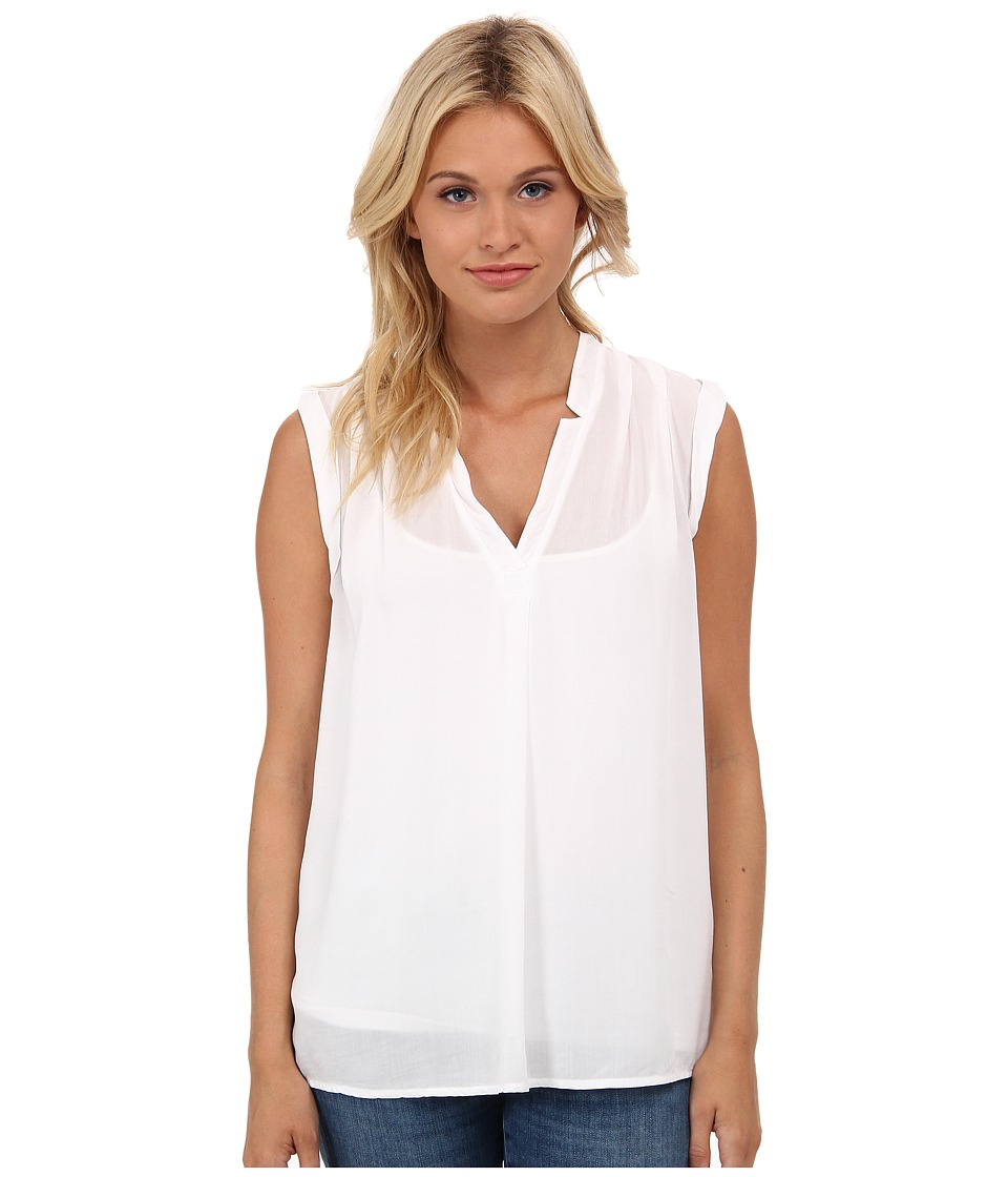 Splendid - Rayon Voile Tank Top (White 1) Women's Sleeveless