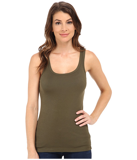 Splendid - 1x1 Tank Top (Olivine) Women