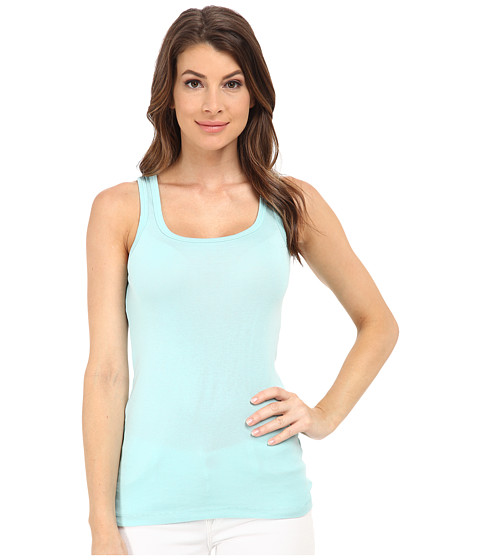 Splendid - 1x1 Tank Top (Aruba Blue) Women's Sleeveless