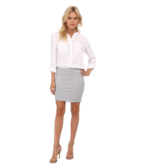 Splendid - Shirt Dress (Heather Grey) Women