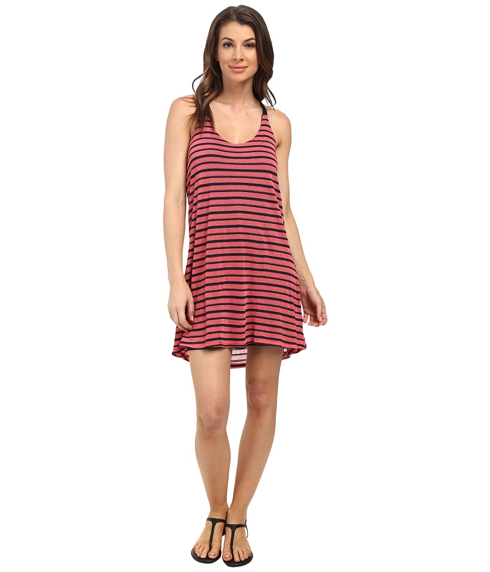 Splendid Valletta Stripe Dress (Desert Rose) Women
