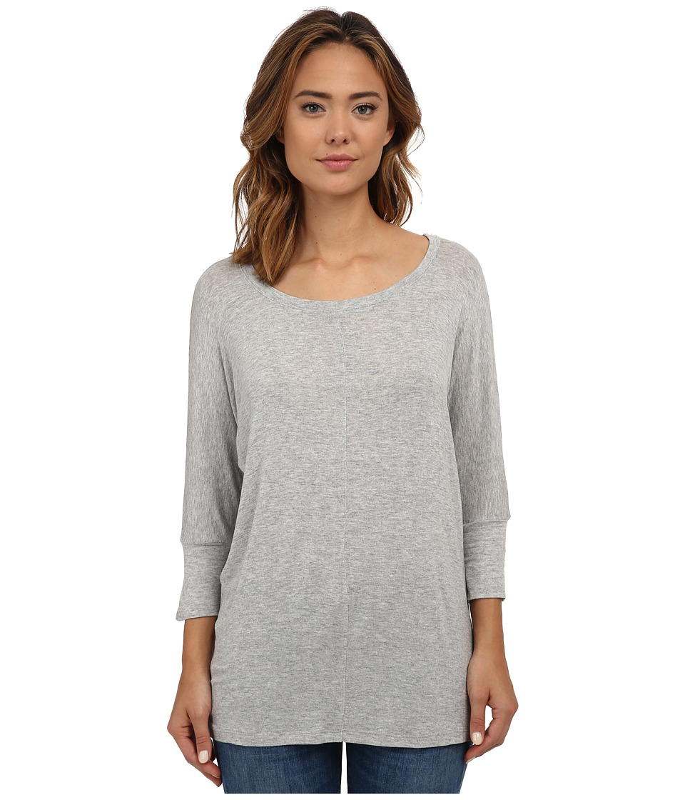 Splendid - Tunic (Heather Grey) Women's Clothing