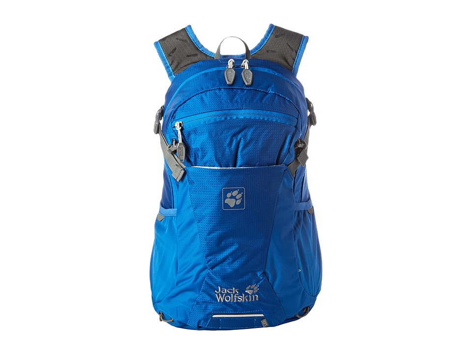 Jack Wolfskin - Moab Jam 18 (Classic Blue) Backpack Bags