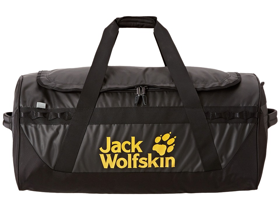 Jack Wolfskin - Expedition Duffel 100 Liters (Black) Backpack Bags