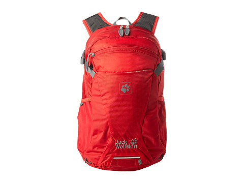 Jack Wolfskin - Moab Jam 24 (Red Fire) Backpack Bags
