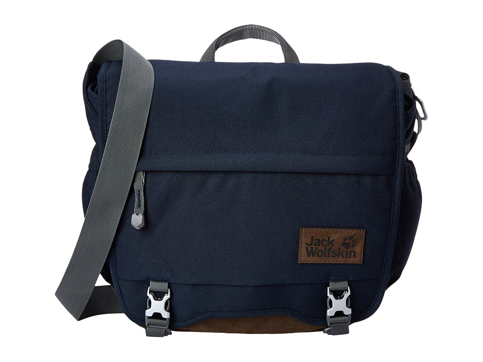 Jack Wolfskin - Camden Town (Night Blue) Messenger Bags