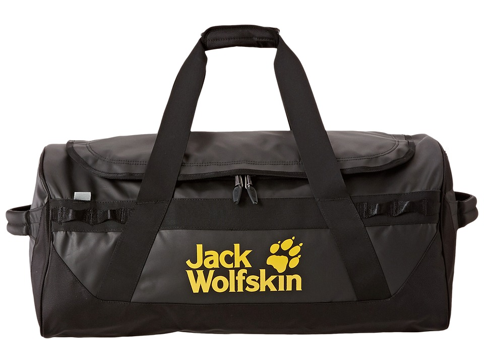 Jack Wolfskin - Expedition Trunk 65 Liters (Black) Backpack Bags