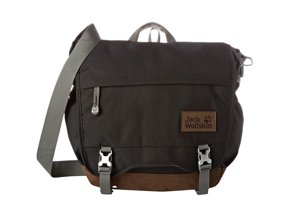 Jack Wolfskin - Camden Town (Black) Messenger Bags